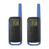 Walkie Talkie Motorola Go Discover PMR T62 with Hands Free Port of 2.5mm Blue. Coverage 8km