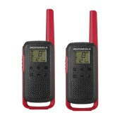 Walkie Talkie Motorola Go Discover PMR T62 with Hands Free Port for 2.5mm Red. Coverage 8km