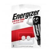 Buttoncell Energizer LR43/186 Pcs. 2