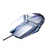 Wired Mouse iMICE T80 Gamer 6D with 6 Buttons, 3200 DPI LED Lightning. Silver