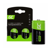 Rechargeable Battery Green Cell GR17 HF9 Ni-MH 250 mAh 9V Τεμ. 1