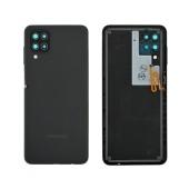 Battery Cover Samsung SM-A125F Galaxy A12 Black Original GH82-24487A