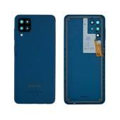 Battery Cover Samsung SM-A125F Galaxy A12 Blue Original GH82-24487C