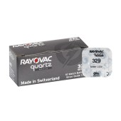 Buttoncell Rayovac 329 SR731SW Pcs. 1