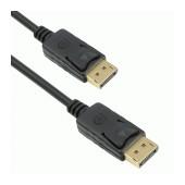 Cable DeTecht Display Port σε Display Port 14+1 Coper Black 3m