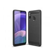 Case TPU Ancus Carbon Series for Samsung SM-A207F Galaxy A20s Black