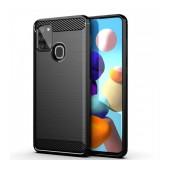 Case TPU Ancus Carbon Series  for Samsung SM-A217FGalaxy A21s Black