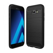 Case TPU Ancus Carbon Series for Samsung SM-A520F Galaxy A5 (2017) Black