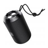 Wireless Speaker Hoco HC1 Trendy Sound TWS Black V5.0 5W, 1200mAh, IPX5, Microphone, FM, USB & AUX Port and Micro SD
