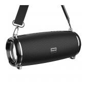 Wireless Speaker Hoco HC2 Xpress TWS Black V5.0 2X5W, 2400mAh, IPX5, Microphone, FM, USB & AUX Port, Micro SD and LED Light