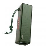 Wireless Speaker Hoco HC3 Bounce TWS Dark Green V5.0 2X5W, 2400mAh, IPX4, Microphone, FM, USB & AUX Port, Micro SD