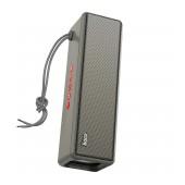 Wireless Speaker Hoco HC3 Bounce TWS Gray V5.0 2X5W, 2400mAh, IPX4, Microphone, FM, USB & AUX Port, Micro SD