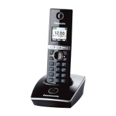 Refurbished (Exhibition) Dect/Gap Panasonic KX-TG8051GRB Black with Hands Free Connector
