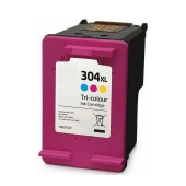 Ink HP Compatible 304XL Pages:300 Colour for Deskjet, ENVY, 2620, 2621, 2622, 2623, 2630, 2630, 2632, 2632, 2633, 2634, 3720, 3730