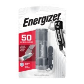 Torch Energizer 2D Metal LED 50 Lumens withSilver