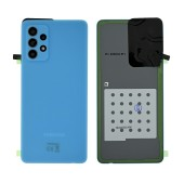 Battery Cover Samsung SM-A725 Galaxy A72 Blue Original GH82-25448B