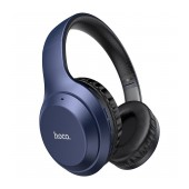 Wireless Stereo Headphone Hoco W30 Fun Μove Blue with Microphone, Micro SD, AUX port and Control Buttons