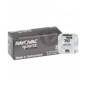 Buttoncell Rayovac 393 SR754SW G5 Pcs. 1