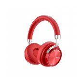 Wireless Stereo Headphone Lenovo HD800 V.5.0 with Microphone, AUX port, Control Buttons & Stand By 300 hrs Red