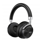 Wireless Stereo Headphone Lenovo HD800 V.5.0 with Microphone, AUX port, Control Buttons & Stand By 300 hrs Black