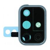 Camera Ring Cover Samsung SM-A715F Galaxy A71 Blue Original GH98-44763C