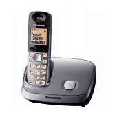 Refurbished (Exhibition) Dect/Gap Panasonic KX-TG6511GRM Silver with Speakerphone and SMS