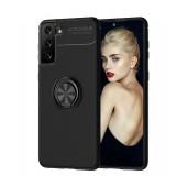 Case Ancus Autofocus Shockproof with Ring Holder για Samsung SM-G996B Galaxy S21+ 5G Black