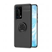 Case Ancus Autofocus Shockproof with Ring Holder για Huawei P40 Pro Black