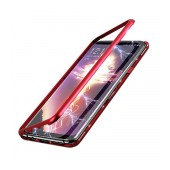 Case Ancus 360 Full Cover Magnetic Metal for Apple iPhone 12 / iPhone 12 Pro Red