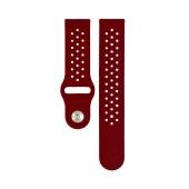 Spare Spart Ancus Wear Silicone Type 22mm Dark Red