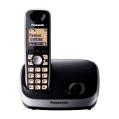 Refurbished (Exhibition) Dect/Gap Panasonic KX-TG6511GRB Black with Speakerphone and SMS