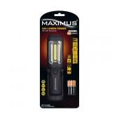 Worklamp Maximus Duracell Led  IP20 Black75Lumens/Απόσταση 250m/ 6h