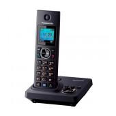 Refurbished (Exhibition) Dect/Gap Panasonic KX-TG7861GRB Black with Speakerphone and Answering Machine