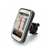 Bicycle Mount with Waterproof Case moto eXtreme for Smartphone up to 6.5