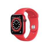 Apple Watch Series 6 GPS M00M3TY/A 44mm Aluminum Case With Sport Band Red