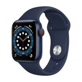 Apple Watch Series 6 GPS MG143TY/A 40mm Aluminum Case With Sport Band Blue