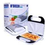 Toaster N'OVEEN SM453 800W Inox with Non-Stick Ceramic Coating