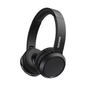 Philips Stereo Headphone TAH4205BK/00 Black with Microphone for Mobile Phones, mp3, mp4 and sound devices