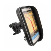 Bicycle Mount with Waterproof Case moto eXtreme for Smartphone Rotable with Cable Output 5.5