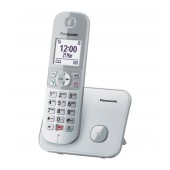 Dect/Gap Panasonic KX-TG6851JTS with Large White Screen and Speaker Phone Silver