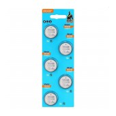 Buttoncell Vinnic CR2430 3V Pcs. 5 with Perferated Packaging