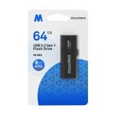 Flash Drive MiWorks MU303 64GB USB 3.2 Gen.1 Black