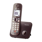 Dect/Gap Panasonic KX-TG6851GRA  with Large White and Speaker Phone Brown