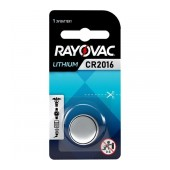 Buttoncell Lithium Rayovac CR2016 Pcs. 1