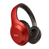 Wireless Stereo Headphone Hoco W30 Fun Μove Red with Microphone, Micro SD, AUX port and Control Buttons