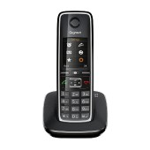 Dect/Gap Gigaset C530 Black with Hands Free Connector 2.5mm S30852-H2512-R601