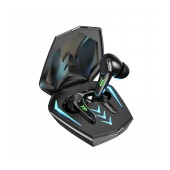 True Wireless Hands Free Borofone BE53 Graceful Gaming Headset V5.0 Black with Touch Sensor and Switching Master/Slave