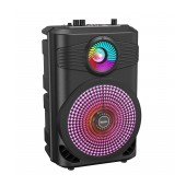 Wireless Speaker Hoco BS46 Mature Black V5.0 10W, 1800 mAh, FM, USB & AUX Port and Micro SD and Microphone
