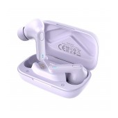 Wireless Hands Free Hoco ES59 Gratified TWS V.5.1 Supports Leader-Follower Switch and Siri / Google Assistant Compatible Purple