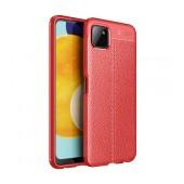 Case Ancus AutoFocus Shock Proof for Samsung SM-A226 Galaxy A22 5G Red